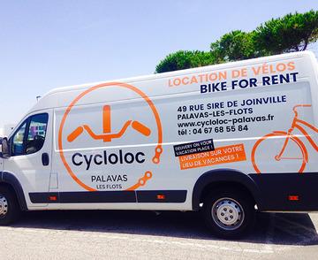 Livraison de vélo à domicile